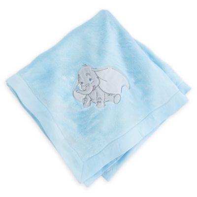 Dumbo Layette Blue Baby Blanket