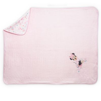 Minnie Mouse Layette Pink Baby Blanket
