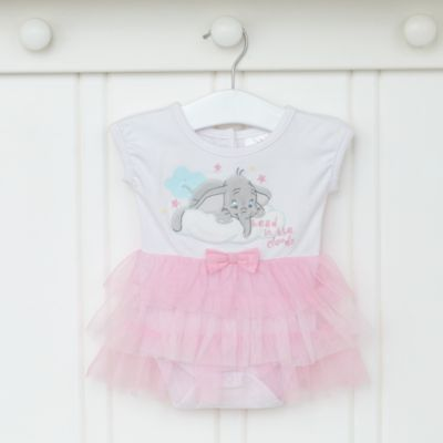 Dumbo Layette Pink Personalised Baby Gift Set