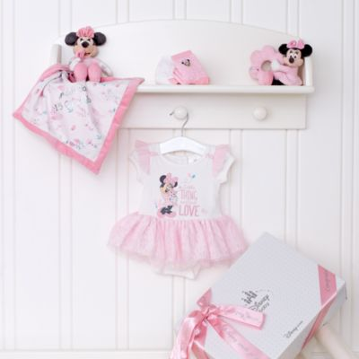Minnie Mouse Layette Personalised Baby Gift Set