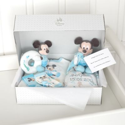 Mickey Mouse Layette Personalised Baby Gift Set