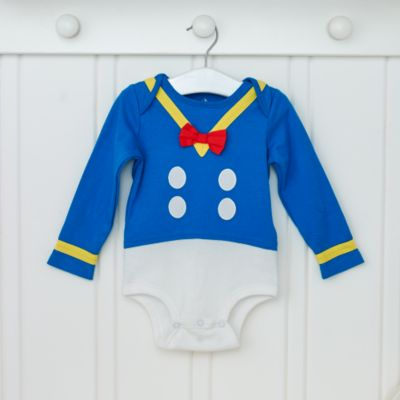 Donald Duck Personalised Baby Costume Gift Set