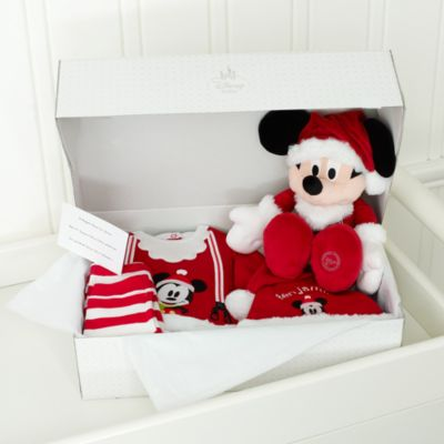 Mickey Mouse Personalised Christmas Baby Gift Set