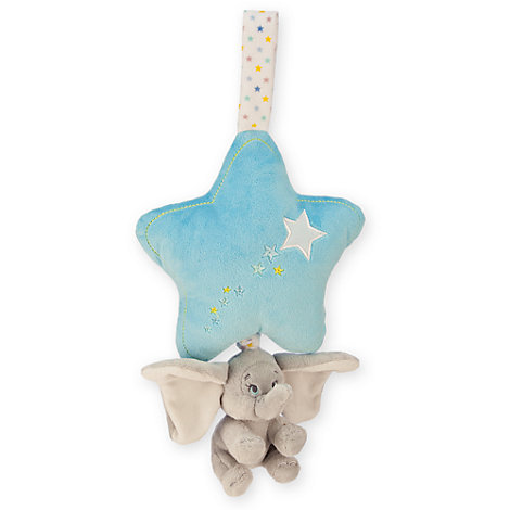 Dumbo Blue Musical Baby Pull
