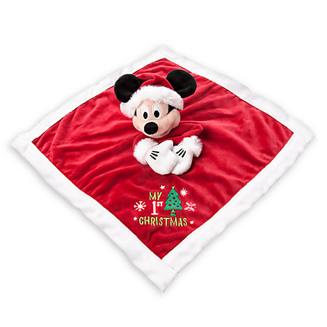 "Doudou festif Mickey Mouse "" My 1st Christmas """