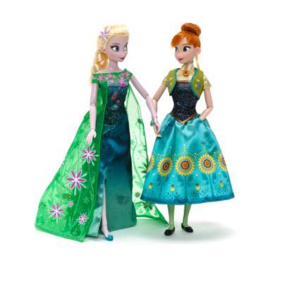 Die Eiskönigin: Party-Fieber - Elsa und Anna Puppenset