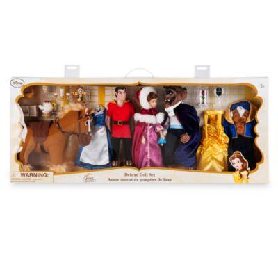 Ensemble de poupées de luxe La Belle et La Bête