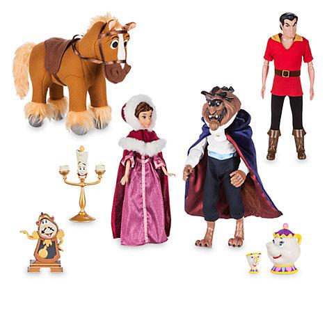 Set muñecos lujo La Bella y la Bestia
