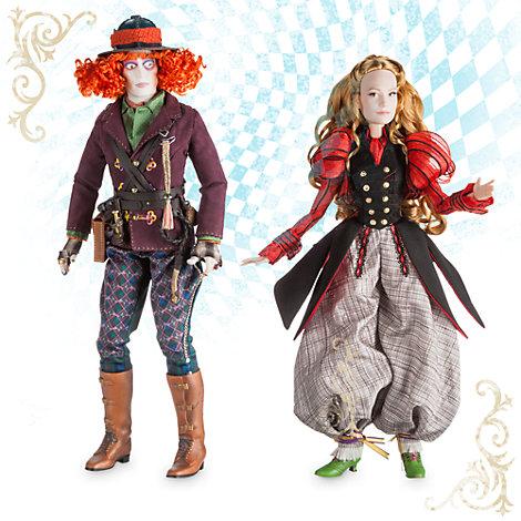 Alice und der verrückte Hutmacher - Puppenset Deluxe in limitierter Edition