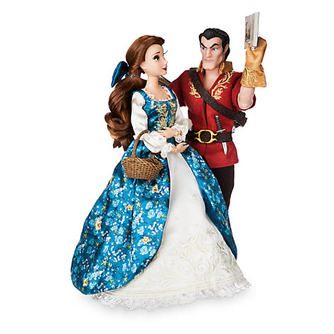 Disney Fairytale Designer Collection Belle and Gaston Limited Edition Dolls