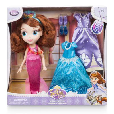 Set muñeca y vestuario Princesa Sofía