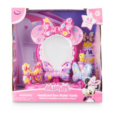 Minnie Mouse Head Band Bow Maker Vanity