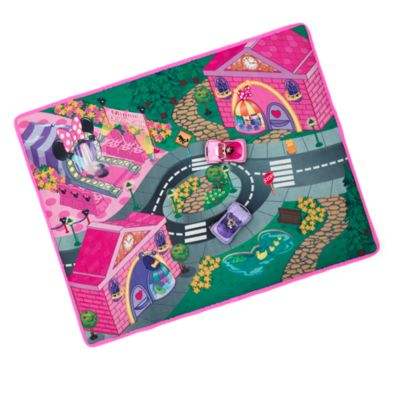 Tapis de jeu noeud de Minnie Mouse