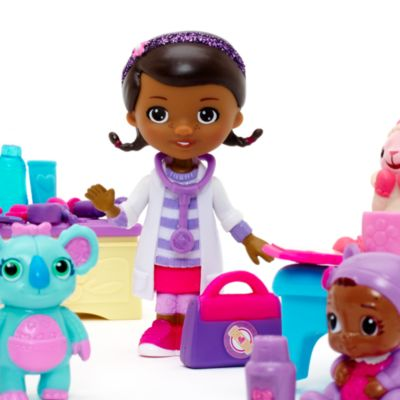 Set juego minifiguritas bebé Cece, Doctora Juguetes