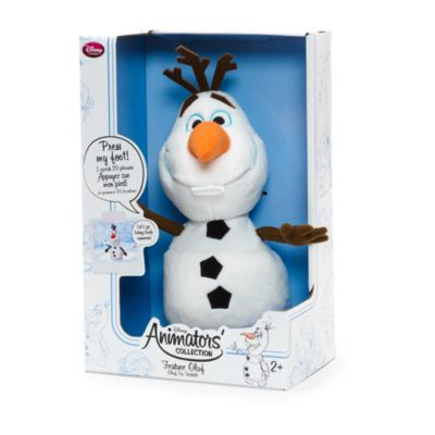 Peluche interactive Olaf, Collection Disney Animators