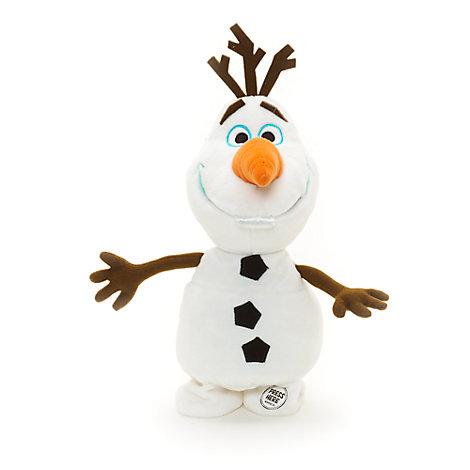 Peluche interactivo Olaf, colección Disney Animators