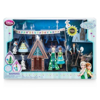 Set castillo cambia color en agua, Frozen Fever