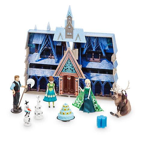 Set da gioco Castello di Frozen Fever che cambia colore