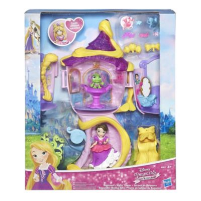Rapunzel's Stylin' Tower Mini Doll Set, Tangled