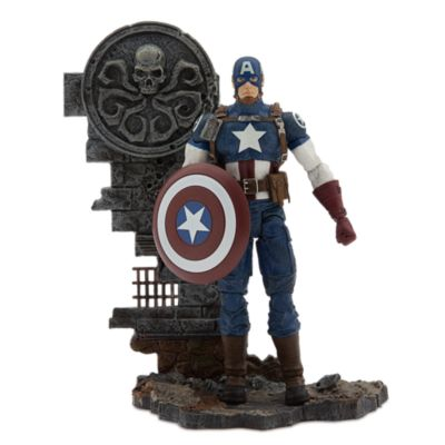 Muñeco de acción Capitán América edición especial coleccionista