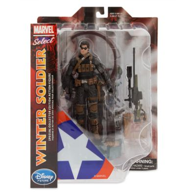 Winter Soldier Special Collector Edition Action Figure