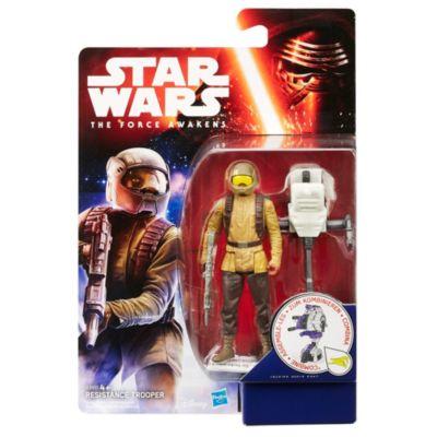 Figurine 9,5 cm Star Wars : Le Réveil de la Force Resistance Trooper Mission Spatiale