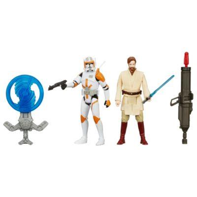 Star Wars: Revenge of the Sith 3.75'' Figure 2 Pack, Obi-Wan Kenobi and Commander Cody