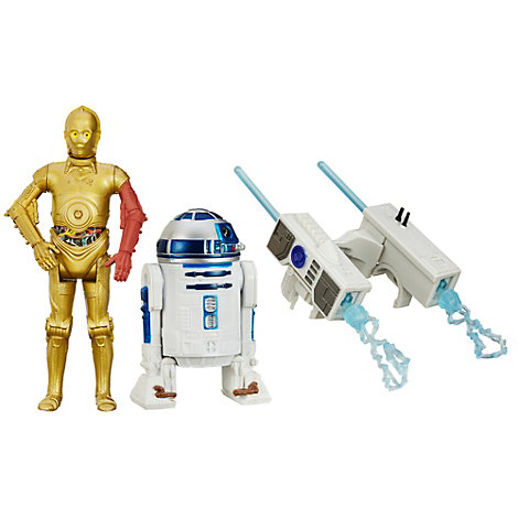 Star Wars: The Force Awakens 3.75'' Figure 2 Pack, Snow Mission R2-D2 and C-3PO