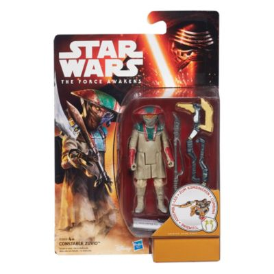 Star Wars: The Force Awakens 3.75'' Figure Desert Mission Constable Zuvio