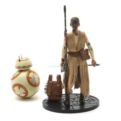 Star Wars 6'' Elite Series Die-Cast Figures, Rey with Lightsaber and BB-8