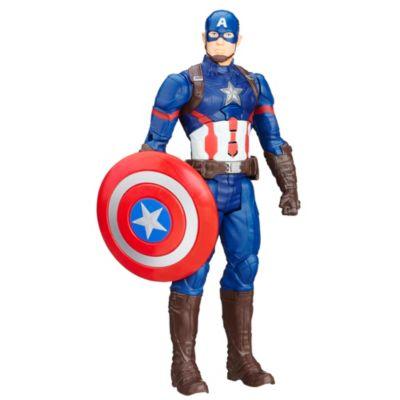 Muñeco de acción Capitán América serie Titan Hero, Capitán América: Civil War (30 cm)