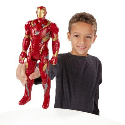 Personaggio snodabile Iron Man 30 cm serie Titan Hero, Captain America: Civil War