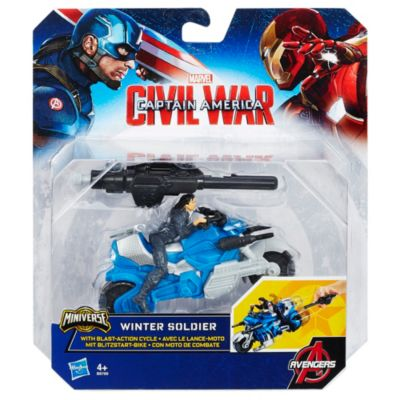 Winter Soldier With Blast-Action Cycle, Captain America: Civil War
