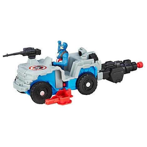 4x4 avec fonction tir, inspiré de Captain America : Civil War