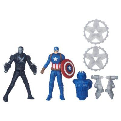Figurines Captain America contre Crossbones de Marvel, Civil War