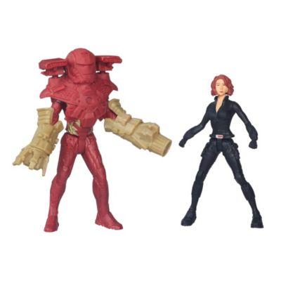 Figuras de Viuda Negra y Iron Man, Capitán América: Civil War