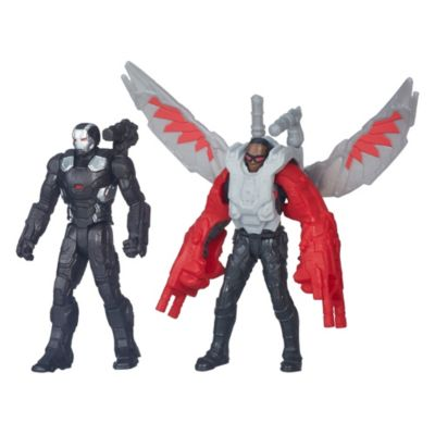 Figurines War Machine et Falcon, Captain America : Civil War