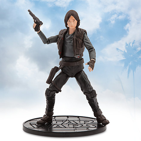 Figurine miniature Jyn Erso de la série Rogue One : A Star Wars Story