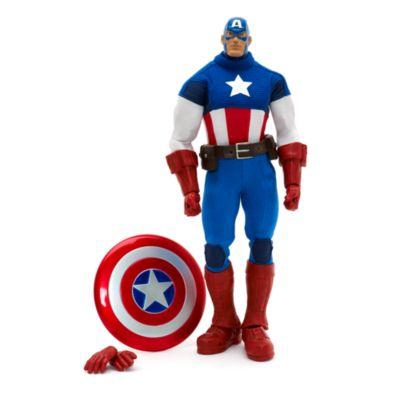 Captain America Premium Action Figure, Marvel Ultimate Series