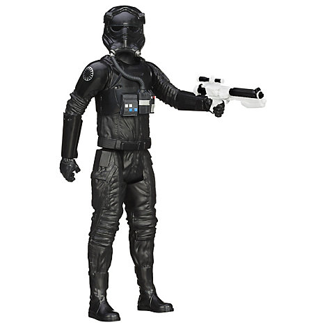 Personaggio snodabile pilota caccia stellare TIE del Primo Ordine serie Titan Hero 30 cm, Star Wars: Il Risveglio della Forza