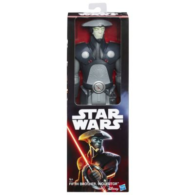 Fifth Brother Inquisitor Titan Hero 12'' Action Figure, Star Wars Rebels