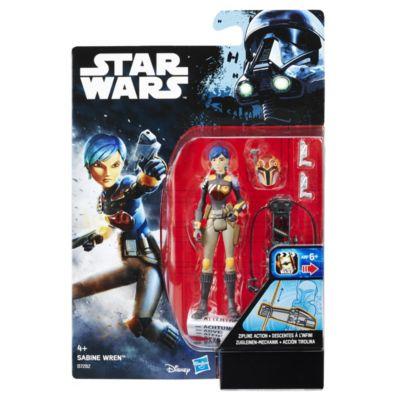 Sabine Wren action figure 9,5 cm, Star Wars Rebels