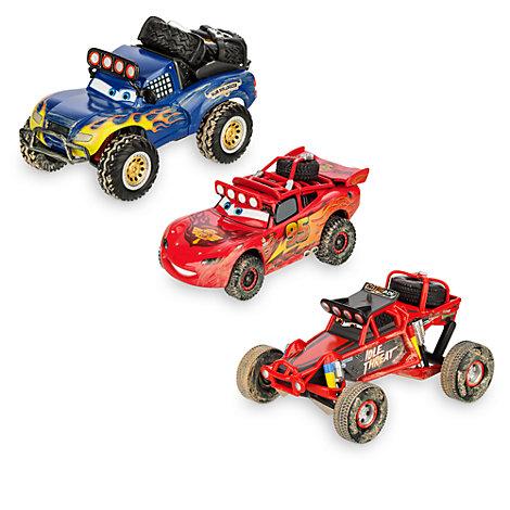 Macchinine Radiator Springs 500½ di Disney Pixar Cars, set di 3
