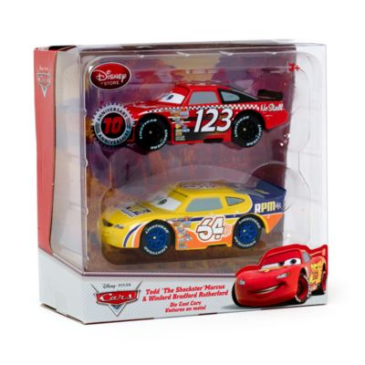 Voitures miniatures Todd Marcus et Winford Rutherford Disney Pixar Cars