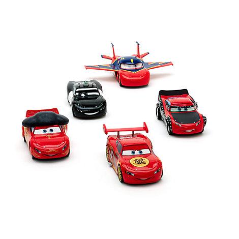 Set vehículos a escala McQueen-O-Rama, Disney Pixar Cars