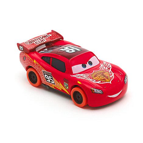 Voiture miniature Flash McQueen Carnaval, Disney Pixar Cars