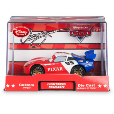 Disney Pixar Cars Custom Die-Cast from The Artist Series, 1:43 Lightning McQueen By Chip Foose