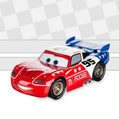 Voiture miniature customisée Disney Pixar Cars de la série The Artist, Flash McQueen, à l'échelle 1/18, par Chip Foose