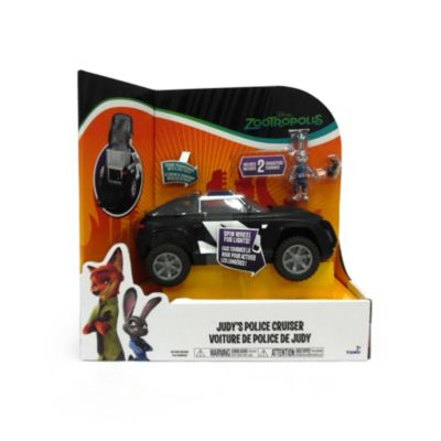 Véhicule de police de luxe de Judy et figurines Judy et Mouse Perp, Zootopie