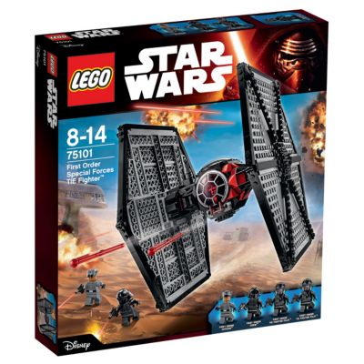 LEGO First Order Special Forces TIE Fighter Set 75101, Star Wars: The Force Awakens